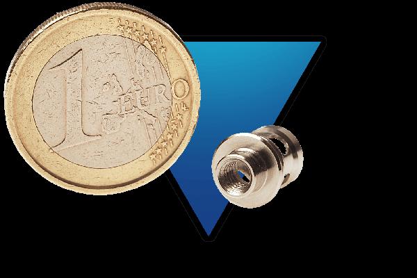 Exemple de valve fabriquée en inox 316L et destinée à la connectique
